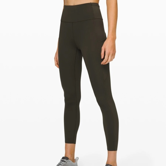 "✨ Lululemon Fast and Free Tight II 25"" Nulux 6"